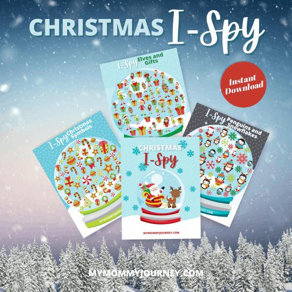 Christmas I Spy printable