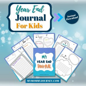 Year End Journal for Kids printable