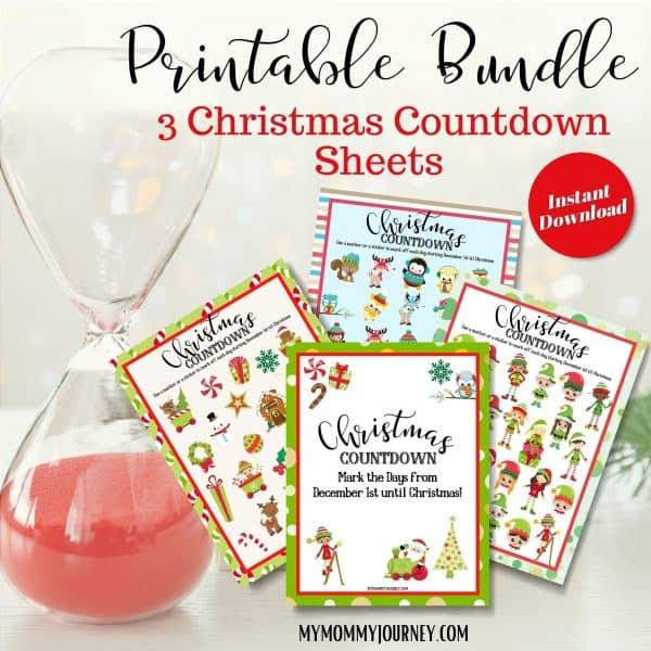 Christmas Countdown Bundle printable