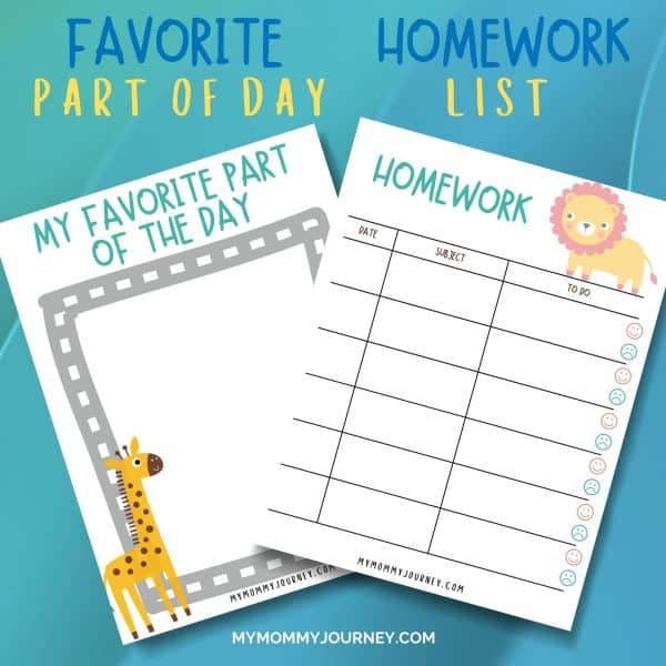 Kids Daily Planner