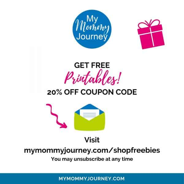free printables shop offer