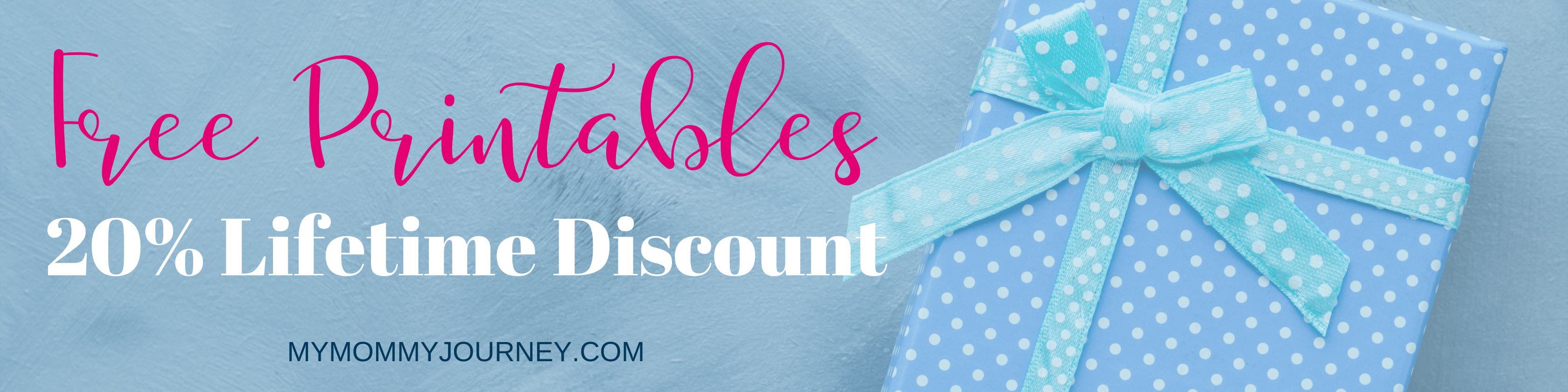 shop offer free printables and lifetime discount