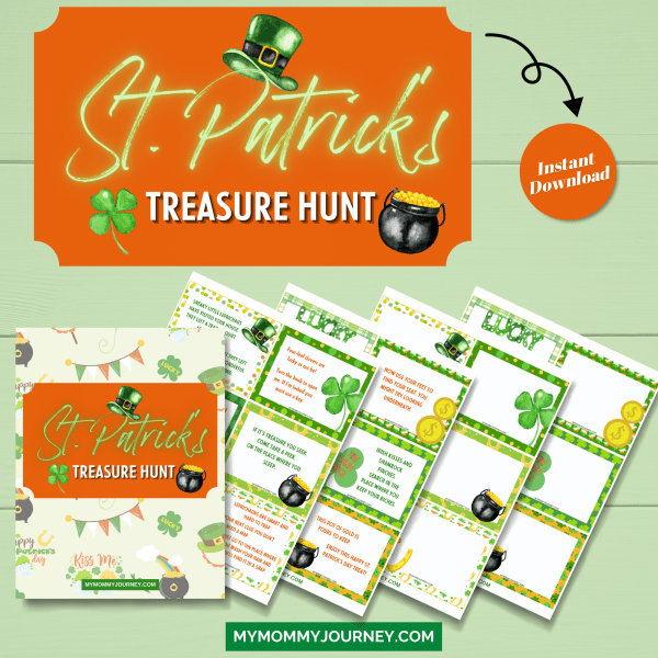 St. Patrick's Treasure Hunt printable