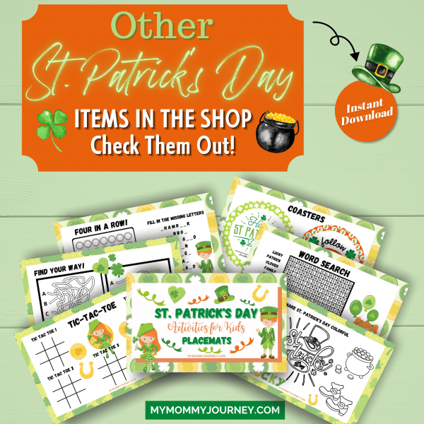 Other St. Patrick's Day items in the shop