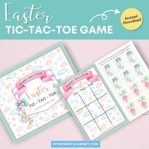 Easter Tic Tac Toe Game printable