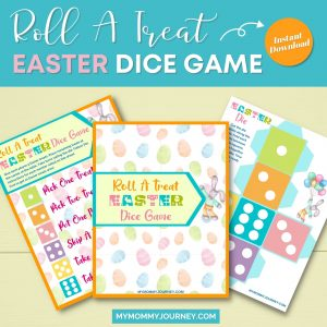 Roll A Treat Easter Dice Game printable