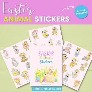 Easter Animal Stickers