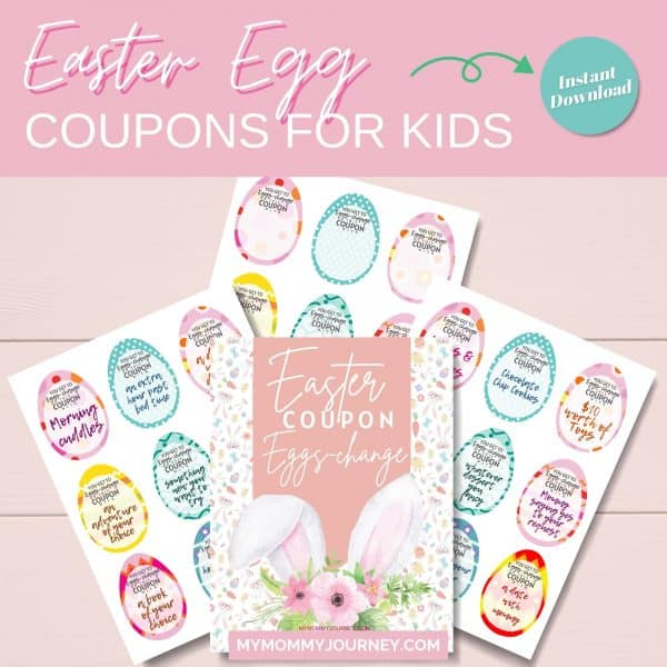 Easter Egg Coupons for Kids