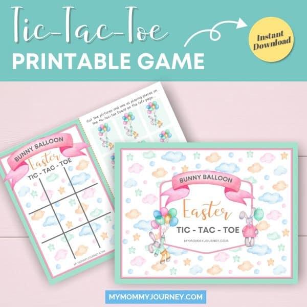 Tic Tac Toe printable game