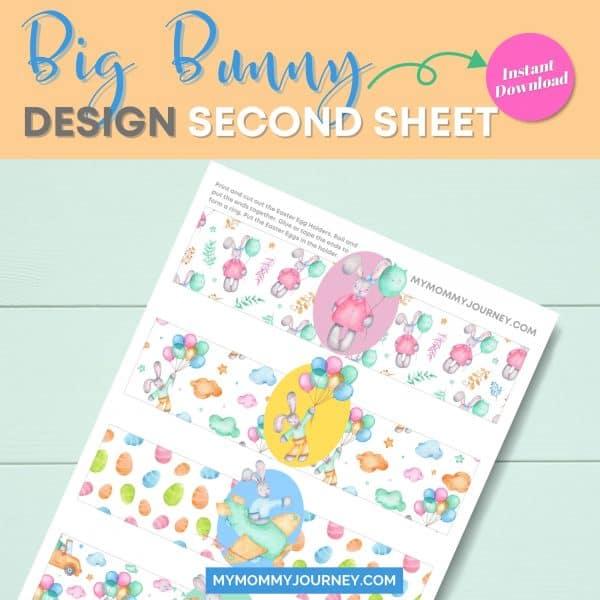 Big bunny design second sheet