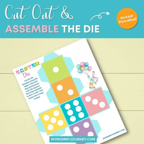 Cut out and assemble die