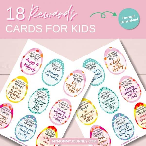 18 Reward cards for kids
