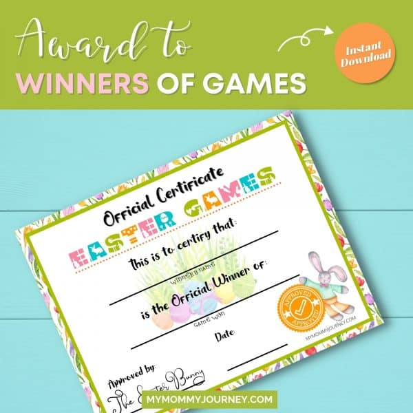 Award to winners of games
