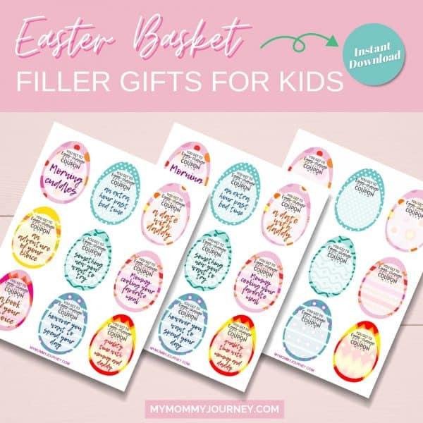 Easter basket filler gifts for kids