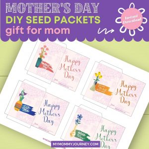 Mother's Day DIY Seed Packets Gift for Mom