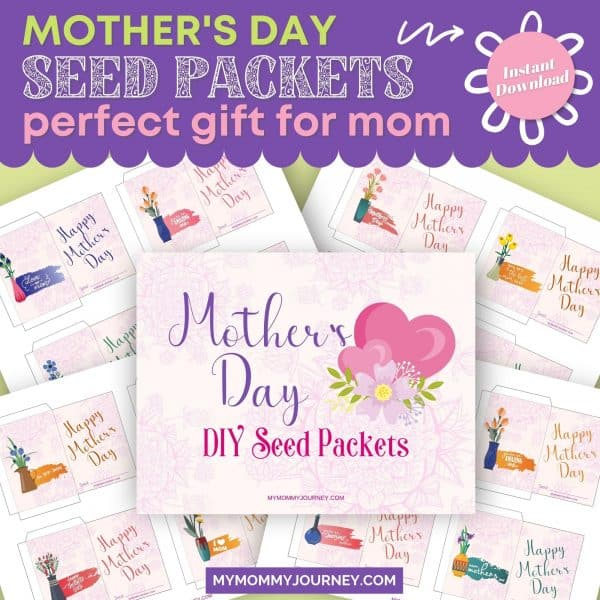 Mother's Day Seed Packets Perfect Gift For Mom