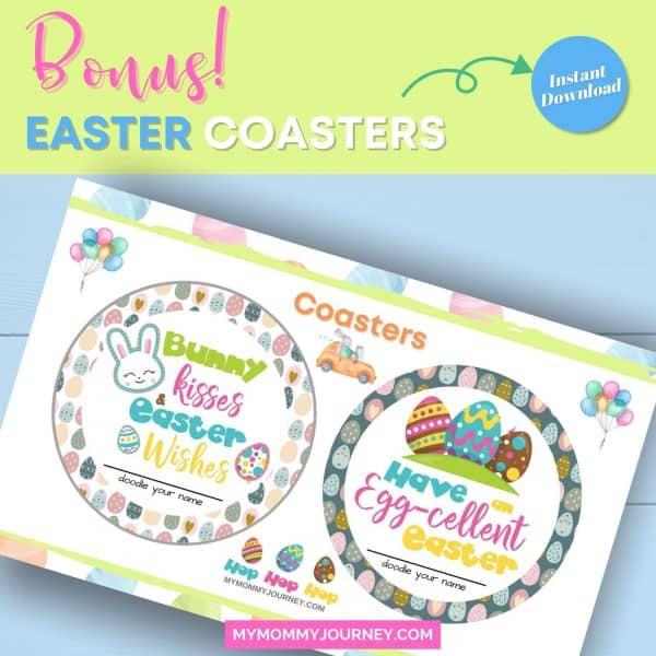 Bonus Easter coasters