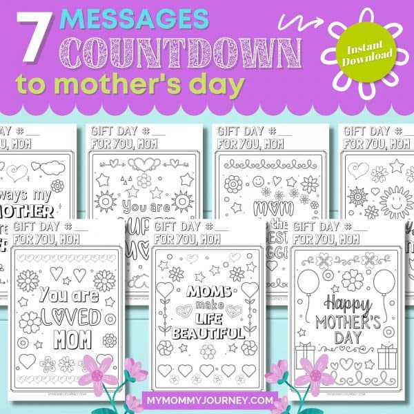 7 Messages Countdown to Mother's Day