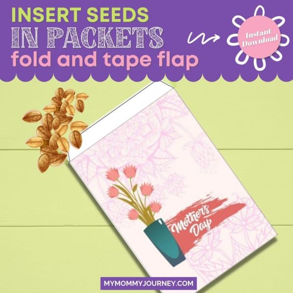 Insert Seeds in Packets Fold and Tape Flap