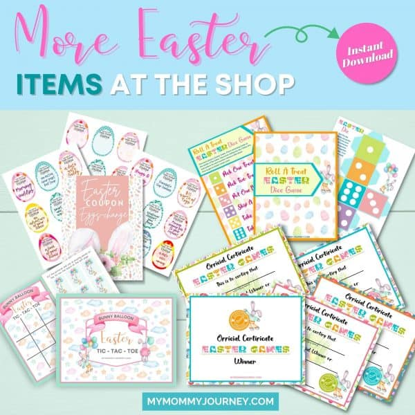 More Easter items at the shop