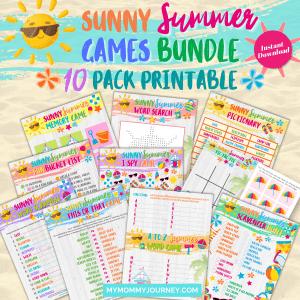Sunny Summer Games Printable Bundle1