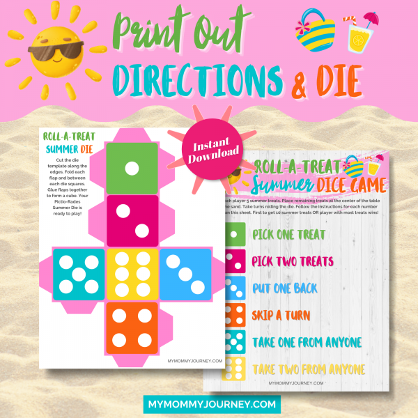 Print out directions and die