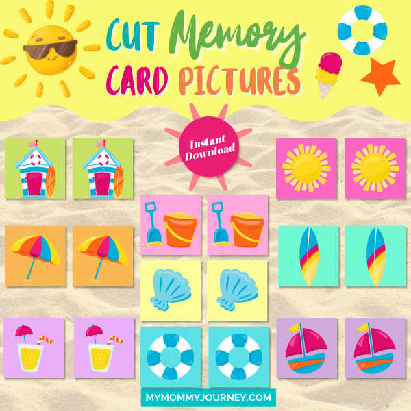 Cut memory card pictures