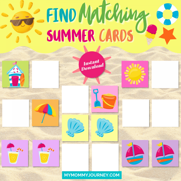 Find matching summer cards