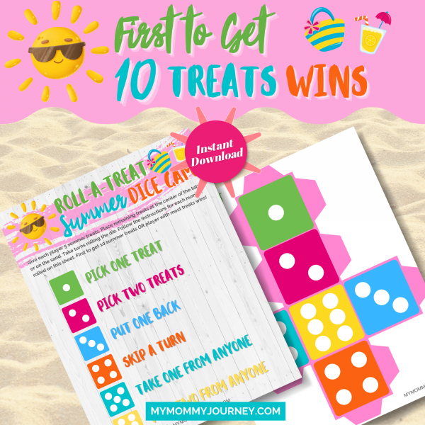 First to get 10 treats wins