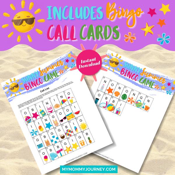 Includes Bingo Call Cards