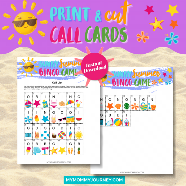 Print and Cut Call Cards