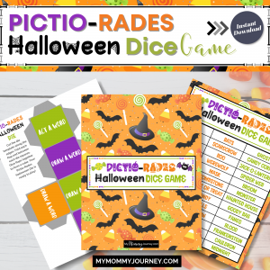 Piction-Rades Halloween Dice Game