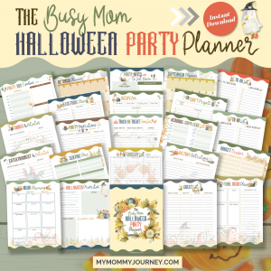 The Busy Mom Halloween Party Planner