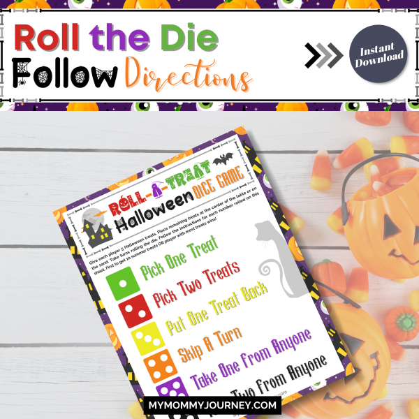Roll the die follow directions