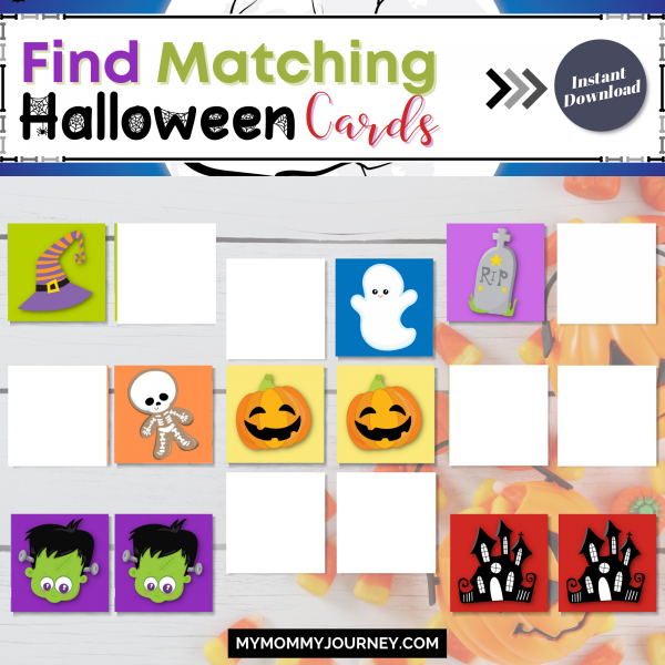 Find matching Halloween cards