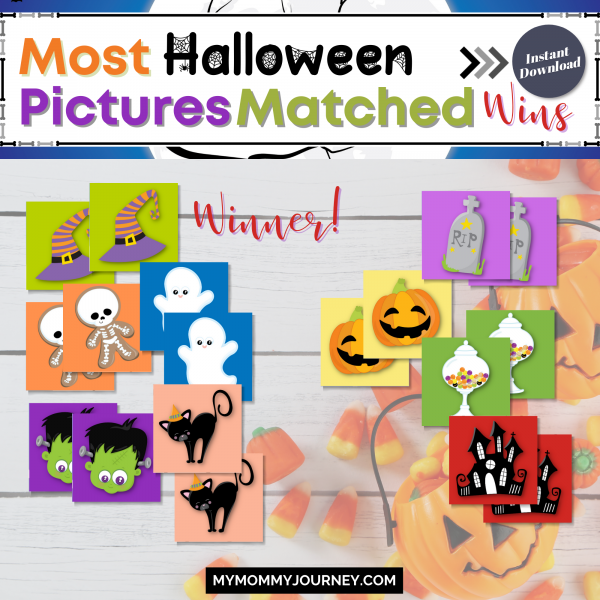 Most Halloween pictures matched wins