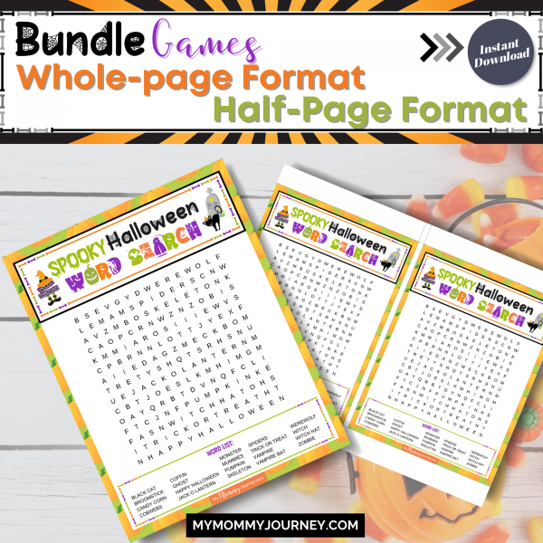 Bundle Games whole-page format and half-page format