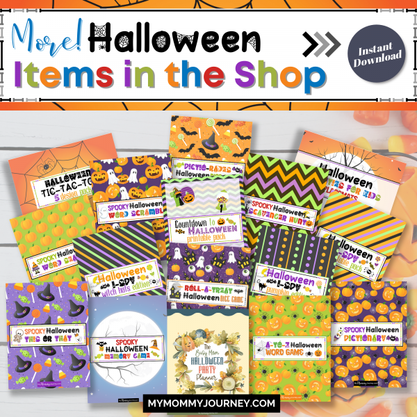 More Halloween items in the shop